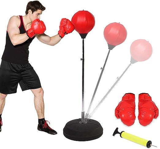 Ejoyous Punching Ball Enfants, Support de Balle de Poinçon