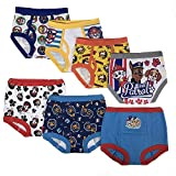 Nickelodeon Toddler Boys' Paw Patrol 3pk Training Pants and 4pk Briefs,PAW Multi,4T