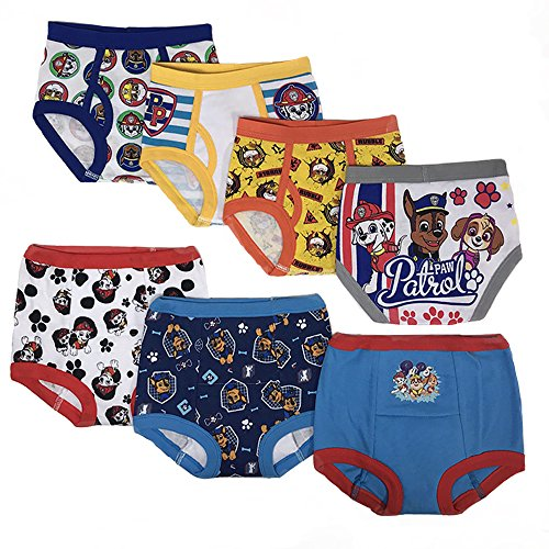 Nickelodeon Toddler Boys' Paw Patrol 3pk Training Pants and 4pk Briefs
