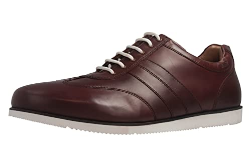 Manz - Zapatos de cordones de Piel para hombre Marrón marrón, color Marrón, talla 52