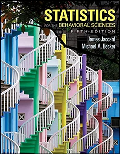 Amazon statistics for the behavioral sciences psy 200 300 statistics for the behavioral sciences psy 200 300 quantitative methods in psychology 5th edition fandeluxe Image collections