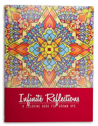 Just for Laughs Infinite Reflections Adult Coloring - Mall Stores Pines