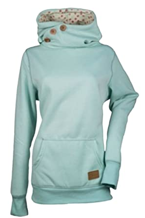 Zilcremo Mujeres Sudadera Pullover Sweatshirt Solid Long Sleeve Sudaderas: Amazon.es: Ropa y accesorios