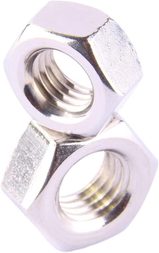 Edelstahl A2 - Sechskantmuttern Standard Sechskant-Muttern V2A 10 St/ück - D/´s Items/® - M18 DIN 934