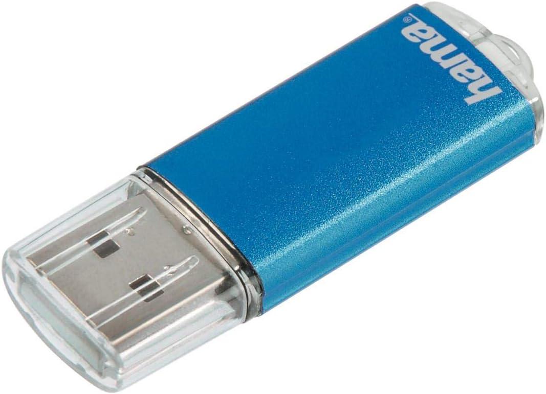 Hama 8gb Usb Stick Usb 2 0 Datenstick Blau Computer Zubehör