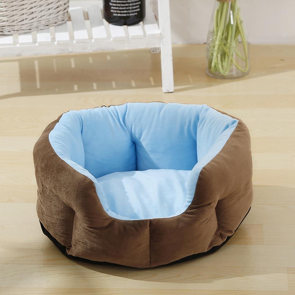 D 50cm19cm D 50cm19cm Desti Flakes Pet Bolster Dog Bed Comfort Four Seasons Dog Kennel Cat Pet nest (color   D, Size   50cm19cm)