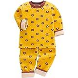 DEBAIJIA Beb/é Ropa de Casa 0-12T Infantil Homewear Ni/ños Pijama Ni/ña Ropa de Dormir Ni/ño Camisones Franela Calentar Invierno