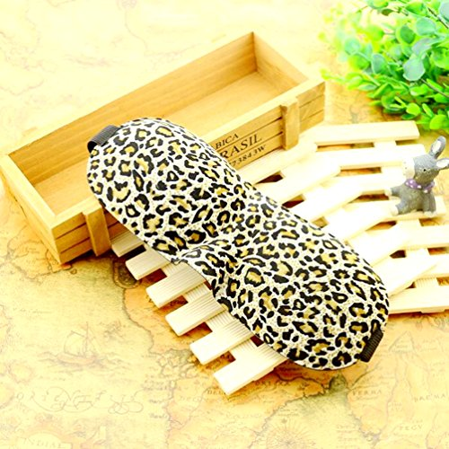 k Sleep Blindfold VANORIG Super Light Large Adjustable 3D Contoured Eye Masks for Sleeping, Travel, Shift Work, Naps, Night Blindfold ,Pack of 1 (Leopard) (Sleeping Leopard)