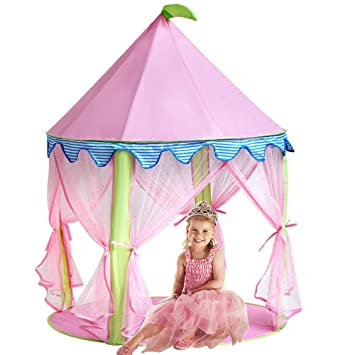Princess Castle TentSonyabecca Tent for Girls Pop up Tent Pink  sc 1 st  Amazon.com & Amazon.com: Princess Castle TentSonyabecca Tent for Girls Pop up ...