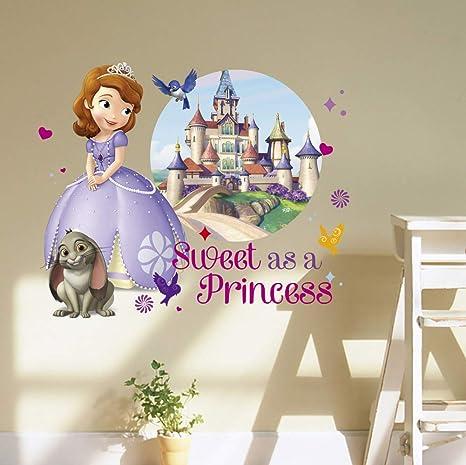 Kibi Princesses Sofia Stickers Muraux Disney Mur De Fond De Chambre