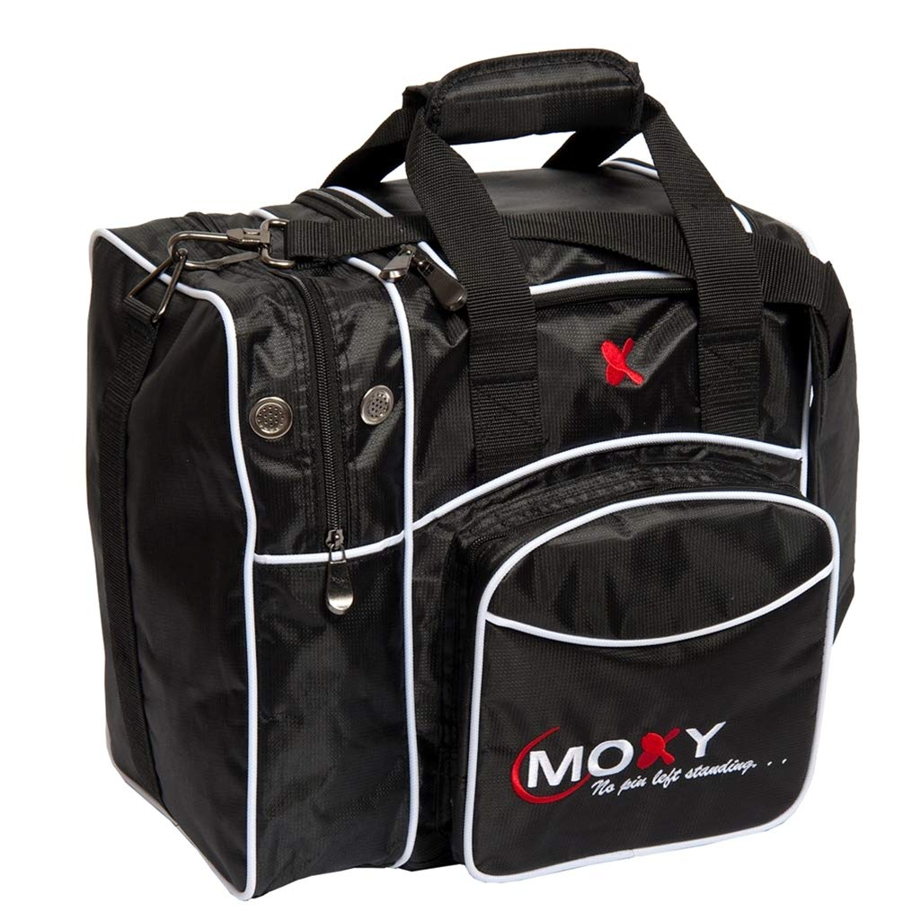 Moxy Candlepin Deluxe Tote Bowling Bag- Black by Moxy
