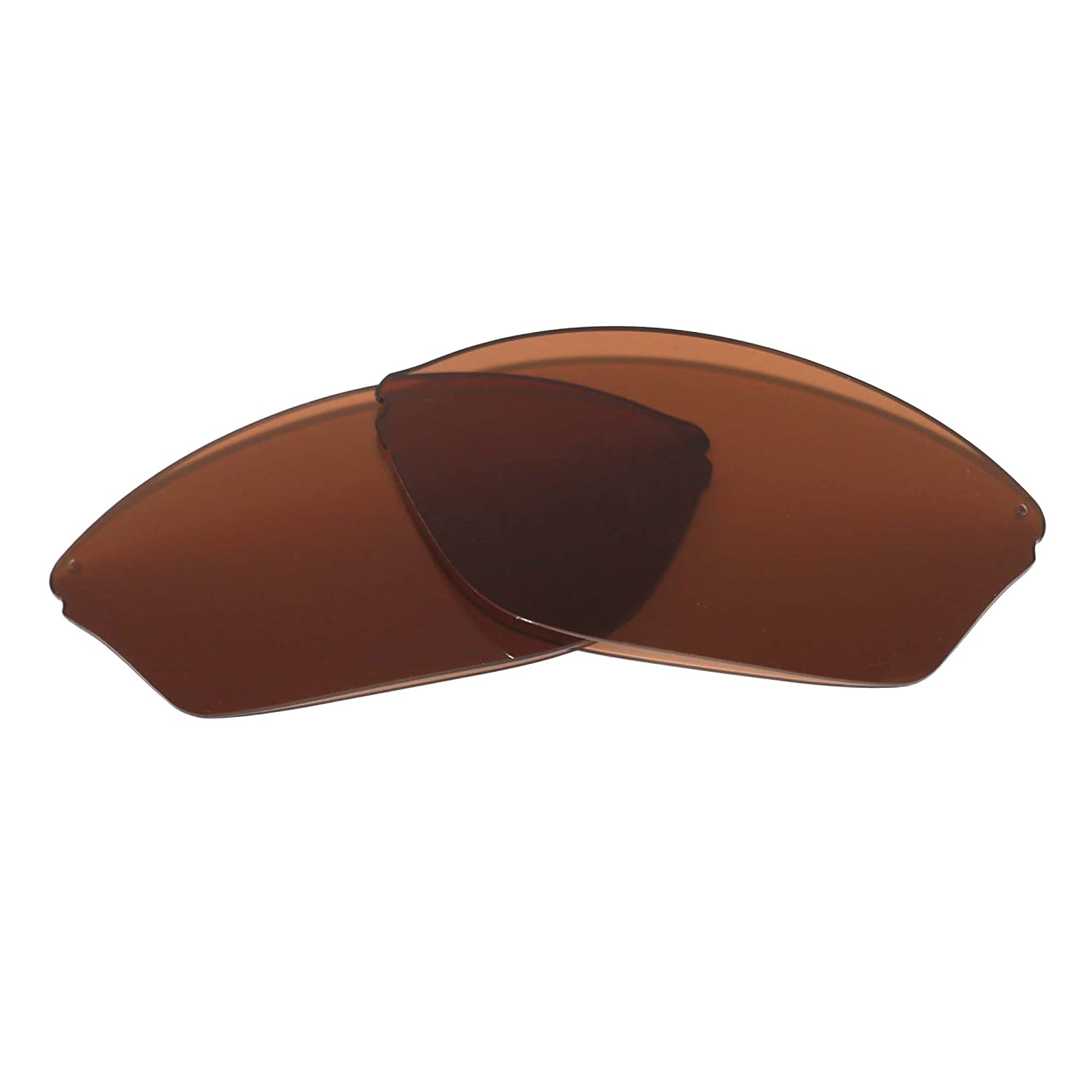 Walleva Replacement Lenses for Maui Jim Hot Sands Sunglasses - Multiple Options Available (Brown - Polarized)