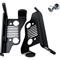Tengchang Chrome Universal Highway Foot Pegs Mount For 25//32//35MM Engine Guard Frame Tube