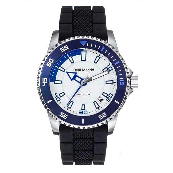 Reloj Oficial del Real Madrid Cadete Niño 432854-07 Viceroy: Amazon.es: Relojes