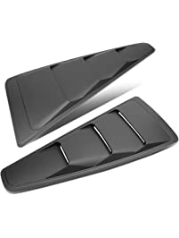 DNA Motoring ZTL-Y-0004 Quarter Side Window Louver (05-14 Ford Mustang Coupe)