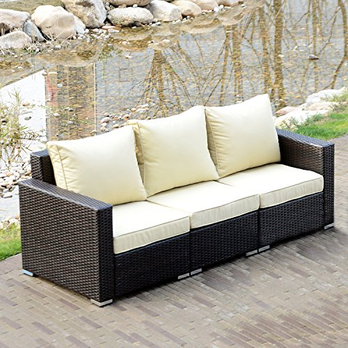 3 seat outdoor couch - 6