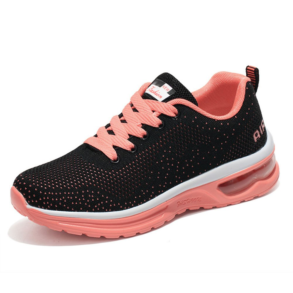 Zapatos Casuales de Mujer, Zapatos de Sacudida de la Aptitud Zapatos Deportivos Zapatos de Correr de la Mujer Zapatilla de Zapatos de Balancín de la Aptitud de Las Señoras (Color : 04, Tamaño : 42) 42|04