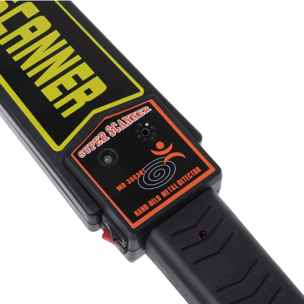 Aawsome Detector De Metales De Mano Portátil Escáner De Seguridad Super Scanning Checking Checking Tool: Amazon.es: Hogar