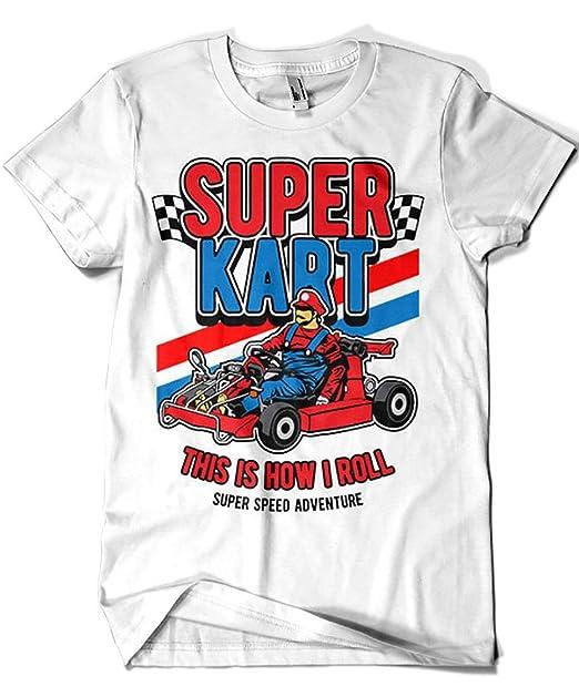Camisetas La Colmena 4211-Camiseta Premium, Super Kart