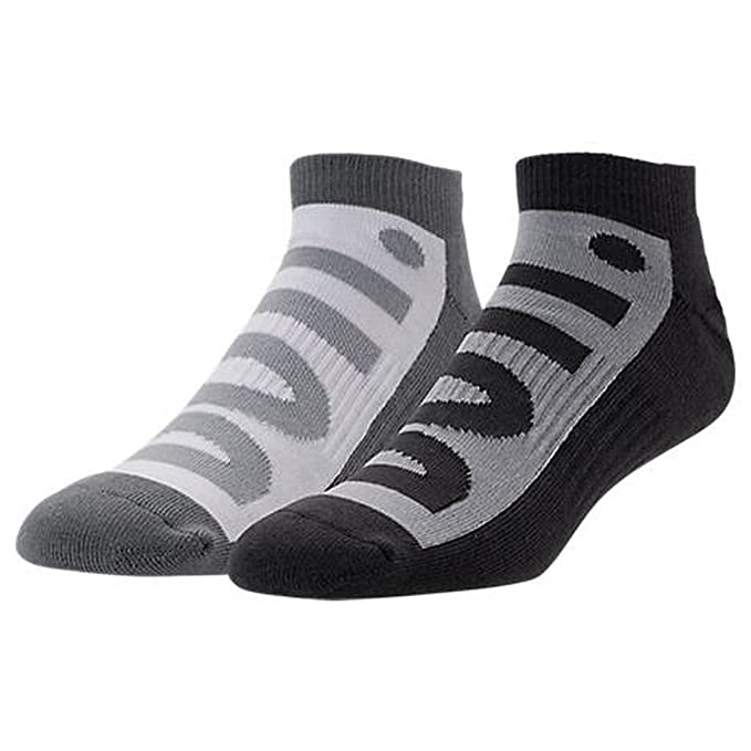 Calcetines Nike – Sportswear No-Show (2 Pair) gris/carbón/blanco