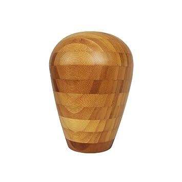 Amazon De Sansnow Bambus Vase Fur Wohnzimmer Handgefertigt Home