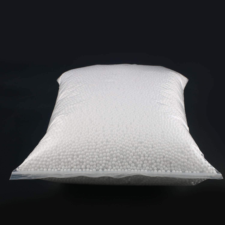 2300ml White Big Pack Styrofoam Foam Balls Slime Beads 3-4mm Micro Polystyrene Foam Balls for DIY Art Craft Floral Decor