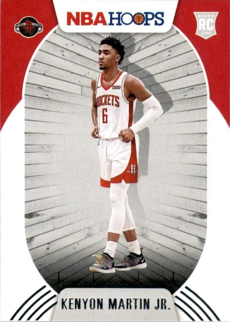 Rookie Card #232 Houston Rockets 2020 2021 Hoops Factory Sealed Team Set with Kenyon Martin Jr