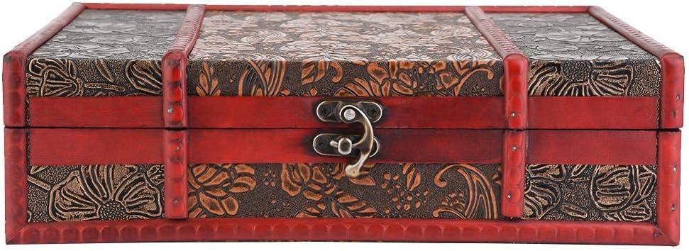 cArt-Us 18521016 Bo/îte Ornements en Bois Papillon 10,5 x 10,5 cm Dense Naturel