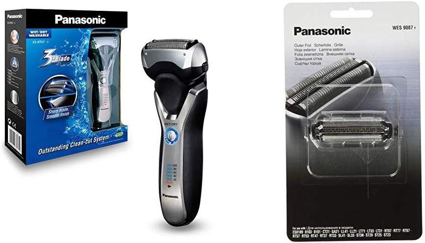Panasonic ES-RT67-S503 - Afeitadora Eléctrica para Hombre WET&DRY ...