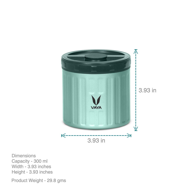500 ml Color Verde Vaya Preserve Bote de conserva
