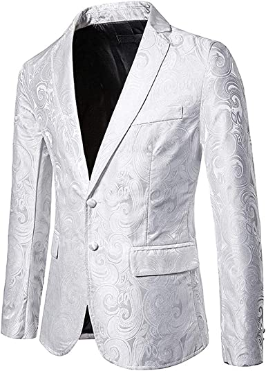 DAY8 Blazer Veste Costume Homme Smoking Homme Soirée Slim