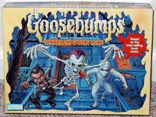 Goosebumps; Shrieks and Spiders (Goosebumps Board Game)