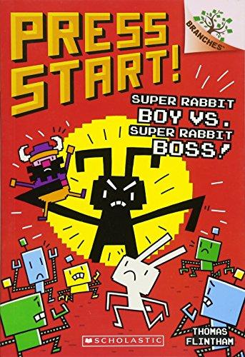 - Super Rabbit Boy vs. Super Rabbit Boss!: A Branches Book (Press Start! #4)
