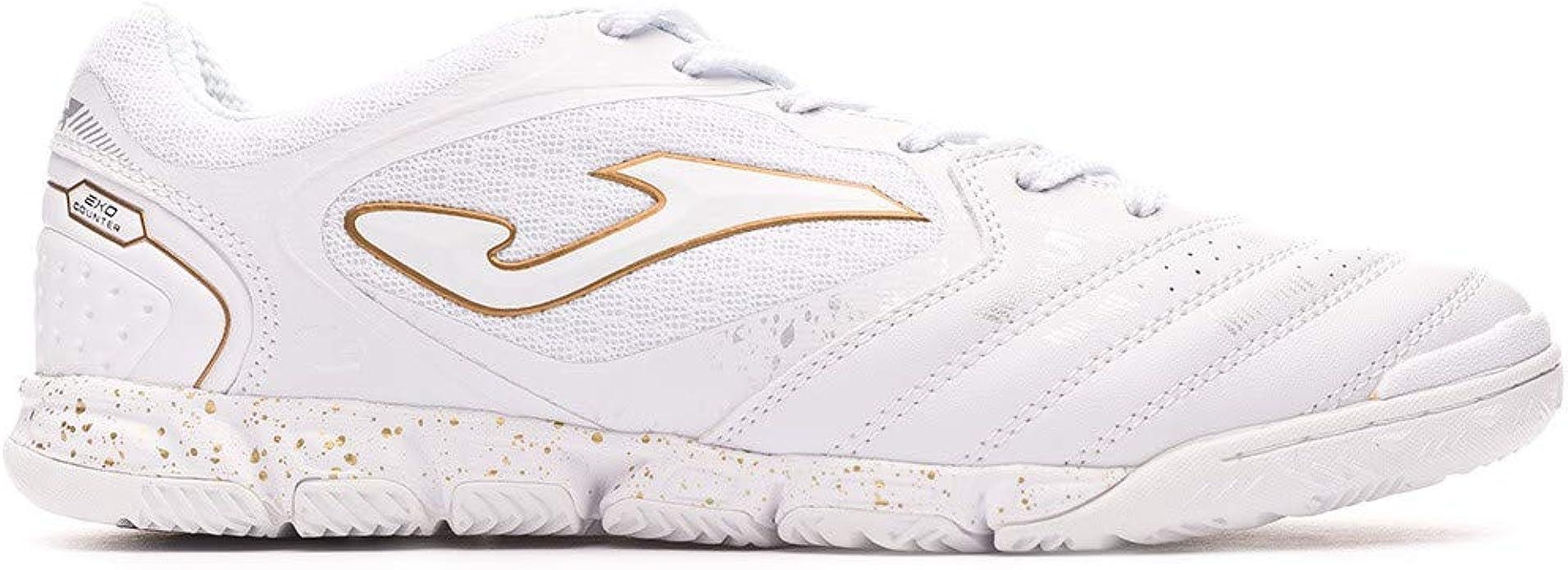 Joma - Zapatilla Futbol Sala Liga-5 902 Blanco Hombre: Amazon.es: Zapatos y complementos