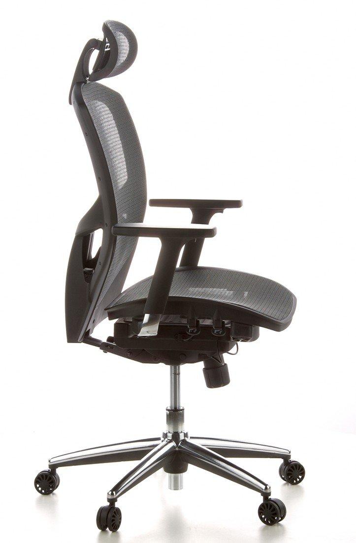 HJH Office VENUS ONE Silla de oficina Negro 76 x 67 x 42 cm