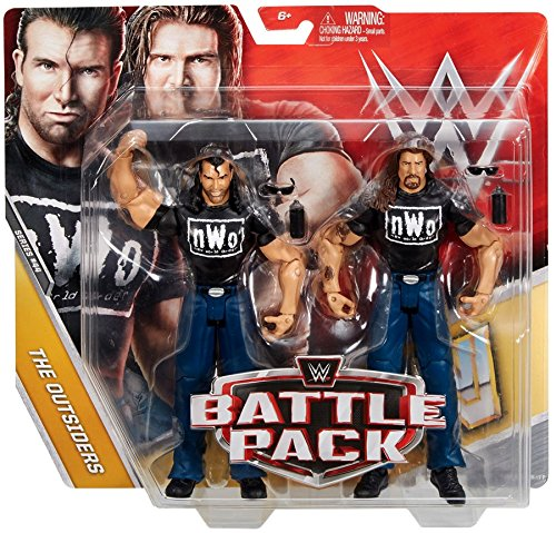 Unbranded New Mattel WWE Series 36 Kevin Nash & Scott Hall NWO Battle Pack