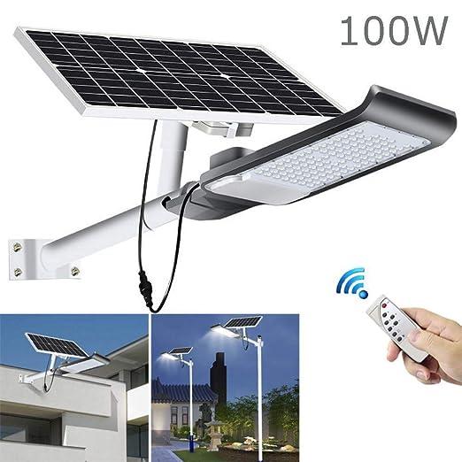 LITTER Luz Solar Exterior Jardin, Proyector Solar Outdoor ...