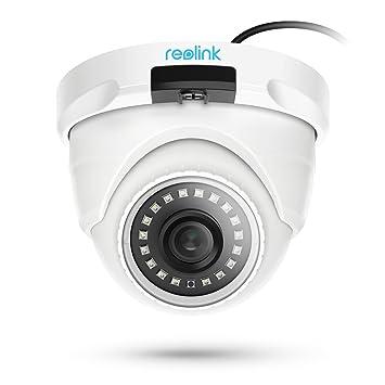 Cámara de Seguridad PoE Reolink 5MP HD Ranura para Tarjeta SD incorporada Soporte de Audio Vigilancia