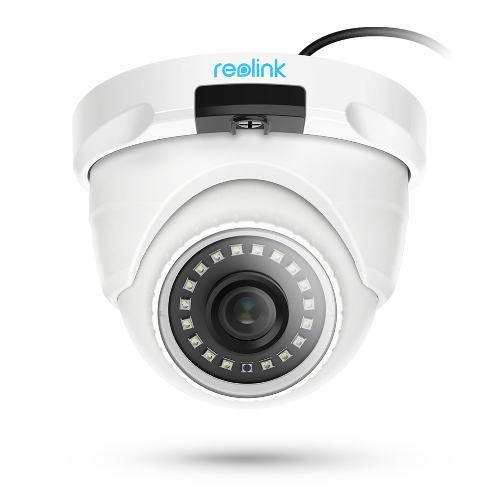 Reolink IP PoE Security Camera 4 Megapixels Super HD 2560x1440 Audio Support Dome Outdoor Indoor IR Night Vision Motion Detection RLC-420