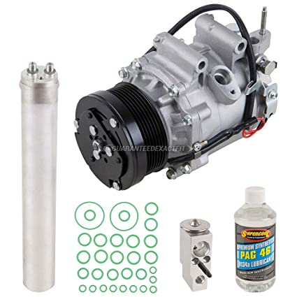 Amazon.com: AC Compressor w/A/C Repair Kit For Honda Civic 2006 2007 2008 2009 2010 2011 - BuyAutoParts 60-81189RK NEW: Automotive