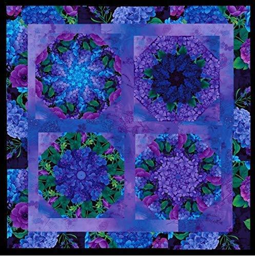 (MISTY Mini Kaleidoscope Stack N Whack Quilt Kit Pre Cut Kit)