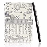 Capa Case Kindle Paperwhite WB Auto Liga/Desliga Ultra Leve Sketch