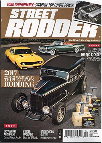 Street Rodder Magazine April 2018