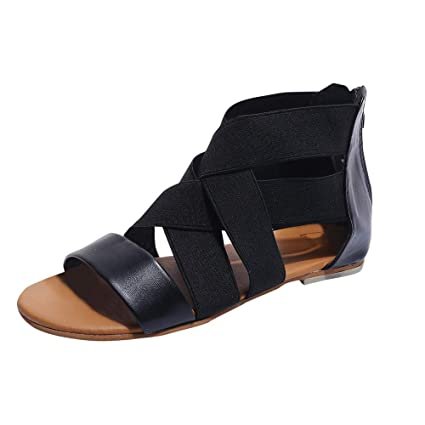fce1bad2f Image Unavailable. Image not available for. Color  Women Zipper Sandals