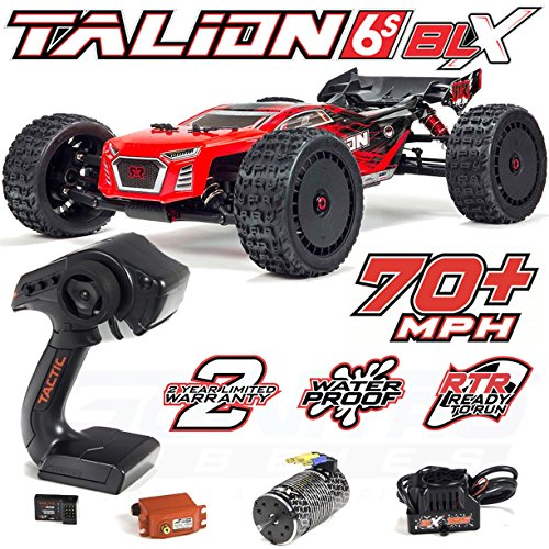ARRMA Talion 6S BLX Brushless 4WD RC Truggy RTR (Red/Black)