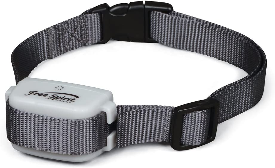 Free Spirit In-Ground Fence Add-A-Dog Collar – Additional, Extra or Replacement Shock Collar with Tone Vibrate and Shock