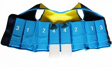Titop Swim Vest para niños Infant Swim Trainer Chaleco para bebés Kids Float Vest Blue + Yellow Small para niños 0-3 años: Amazon.es: Ropa y accesorios