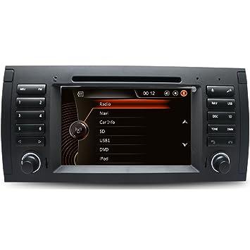 Generic 7 Inch Auto GPS Sistema de navegación para BMW X5 E53 coche reproductor de DVD