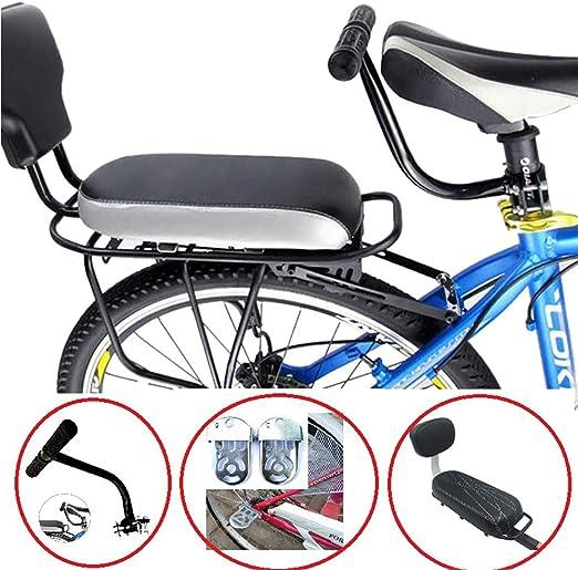 BBJZQ Cojín De Asiento Trasero De Bicicleta,Kit De Bicicleta De ...