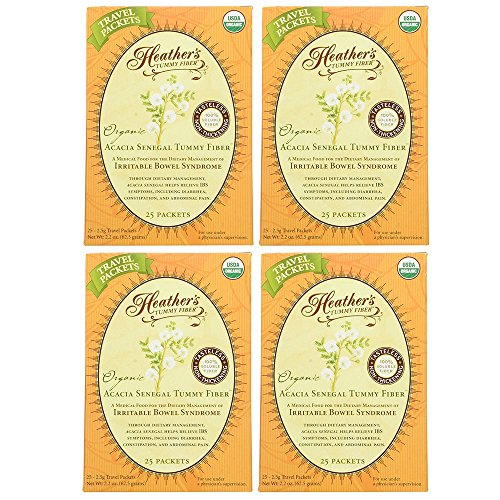 Heather's Tummy Fiber Organic Acacia Senegal Travel Packets (4 Boxes) by Heather's Tummy Care (Image #6)